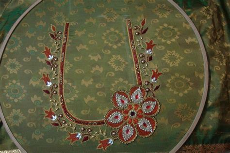 design patterns for embroidery zardosi work 2009 advanced aari embroidery zardosi designing course by nu
