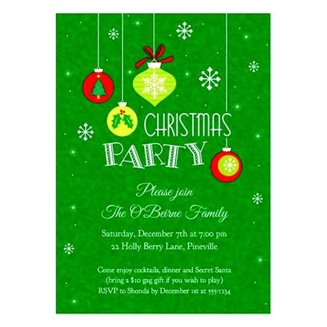 christmas invitations template chalkboard christmas party flyer
