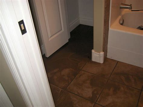 water damage in bathroom bathroom floor repair water damage wood floors
