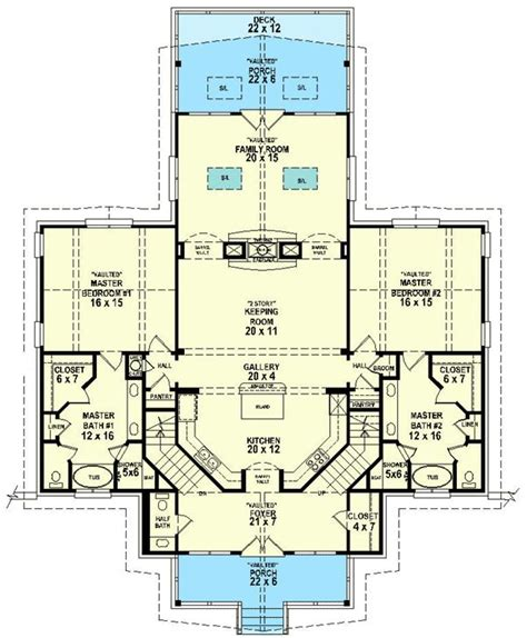 single house plans with 2 master suites 44 best images about dual master suites house plans on
