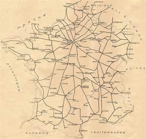 ajpn principales lignes de chemin de fer en en 1948