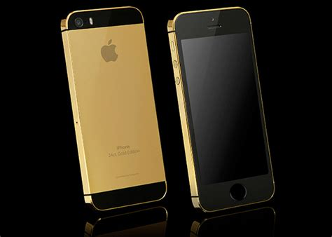 solid gold apple iphone 5s hiconsumption