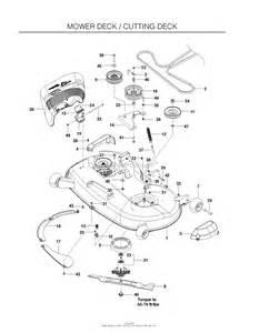 husqvarna rz4623 966764501 2011 03 parts diagram for mower deck cutting deck