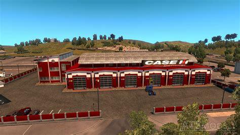 large garage caterpillar ats 1 4 x modhub us american truck simulator mods part 2