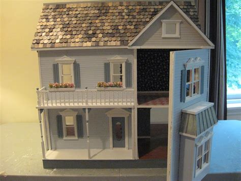finished doll houses sale completed finished and on sale now little darlings dollhouses