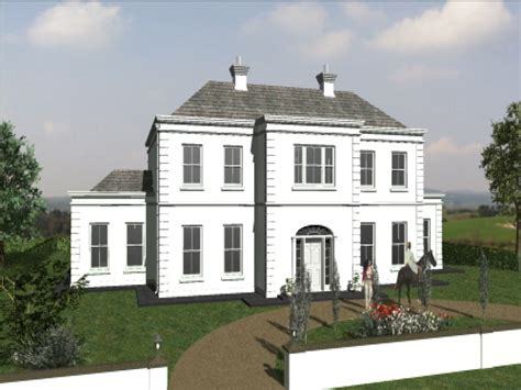 georgian architecture house plans small georgian style house plans