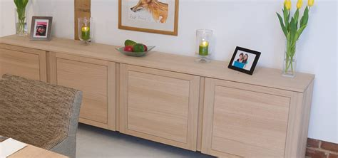 Contemporary Sideboards & Cabinets in solid oak & walnut