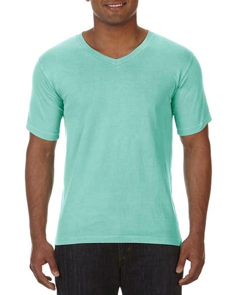 comfort colors v neck comfort colors garment dyed v neck t shirt 4099 ebay