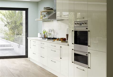 Zola Kitchen by Slab Kitchen Doors Zola Gloss Porcelain Uform