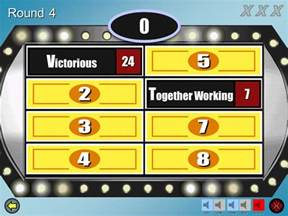 family feud fast money powerpoint template family feud customizable powerpoint template youth