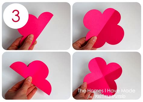 How To Make A 3d Paper Flower - 3d paper wall flowers positively splendid crafts