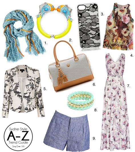Summer 08 Trends High Picks by A Z Trend Guide Picks Of The Week Sydne Style