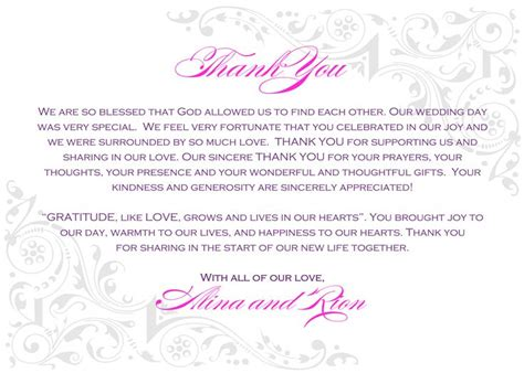 Wedding Thank You Wording by 22 Best Thank You Notes Images On Thank You