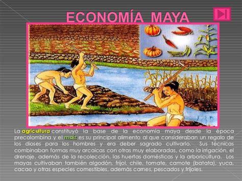 imagenes mayas economia maya