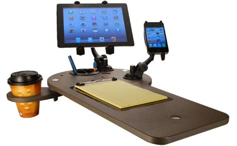 Mobile Office Car Desk Workstations by Custom Car Mobile Office Vehicle Workstation Journidock