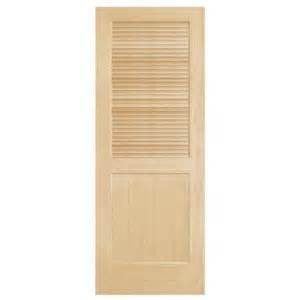 steves amp sons louver panel solid core pine interior door gallery for gt interior sliding doors home depot