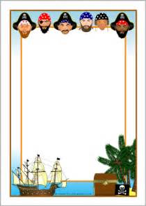 Pirate Themed Writing Paper Pics Photos Pirate Birthday Border Paper