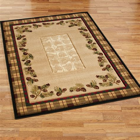 decorating add warmth   room  rustic rug