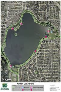 Green Lakes State Park Map by Green Lake Park Seattle Is The Best Pinterest