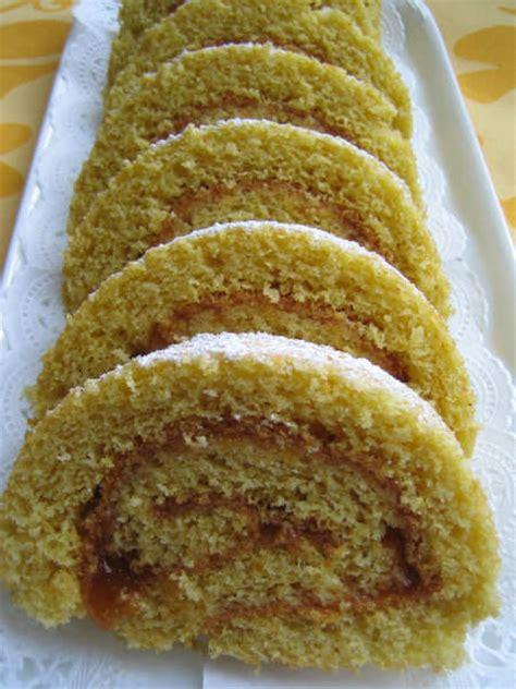 glutenfreie rezepte kuchen biskuitroulade mit hirsemehl glutenfrei glutenfreie