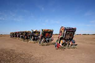 Who Wrote Cadillac Ranch Day 44 From Amarillo To Oklahoma City Ache For The Distance