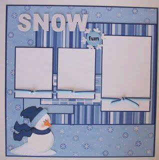 Snow Layout by 1000 Images About Scrapbooking Winter Pages On