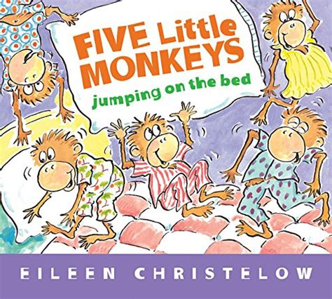 cheapest copy of five little monkeys jumping on the bed padded board book a five little