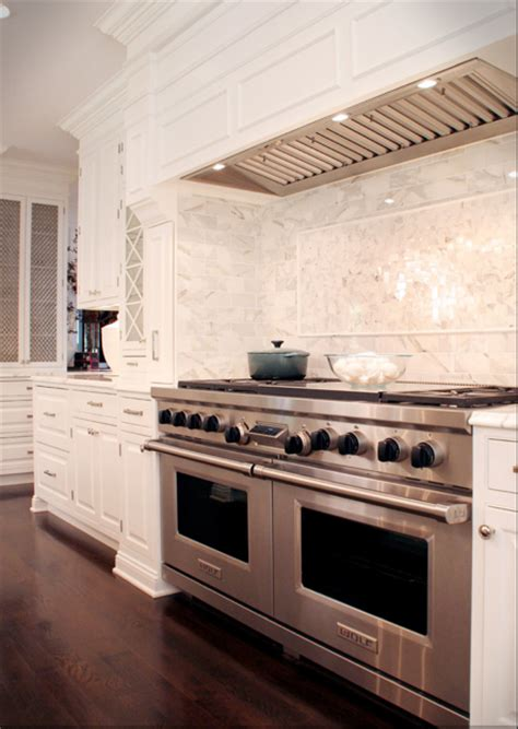 white granite marble subway tile backsplash