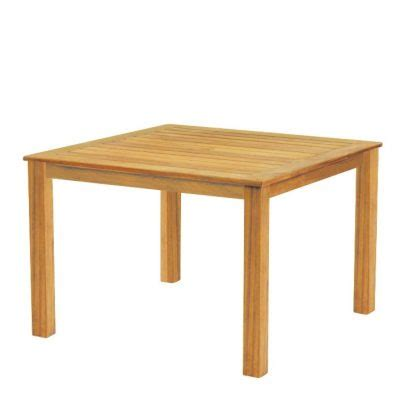 wainscott square outdoor dining teak table wainscott square dining table by kingsley bate open room furniture