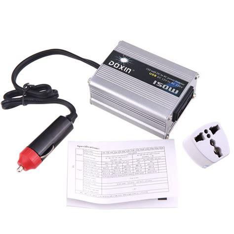 Ac Portable Inverter doxin 150w max watt dc 12v to 220v portable ac car