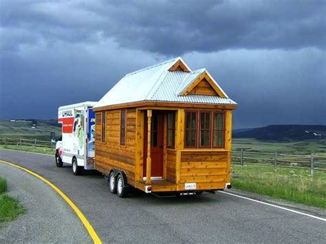 houses on wheels tumbleweed fencl tiny house over the hill