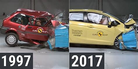 car crash test ncap shows the difference in car crash testing 20
