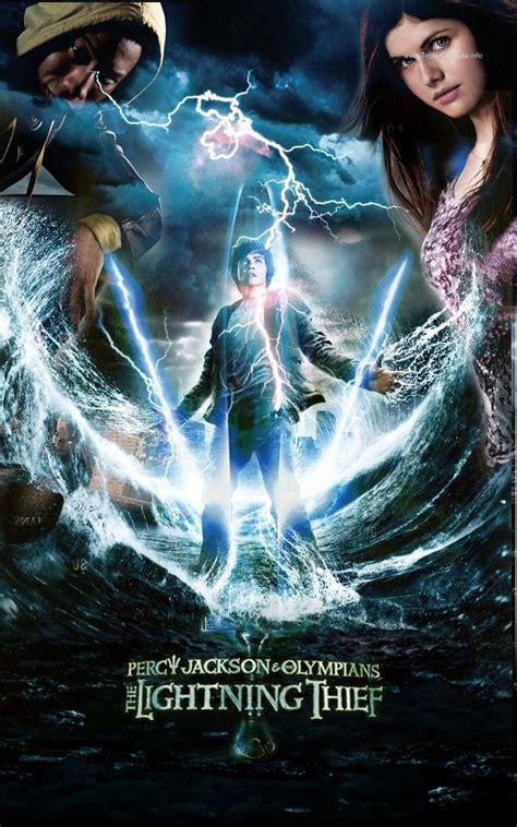film seri percy jackson percy jackson and lightning thief movie poster 2 percy