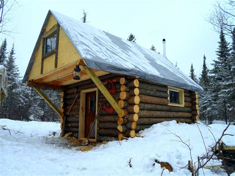 Put You In A Log Cabin Somewhere In Aspen by Cozy Log Cabin How I Built It For Less Than 500