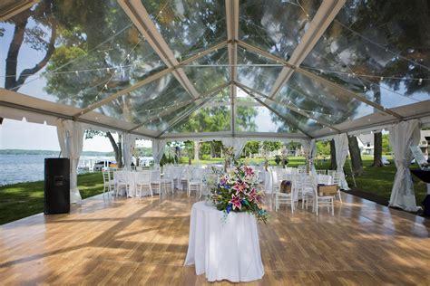 wedding awning clear top wedding tent blue peak tents inc