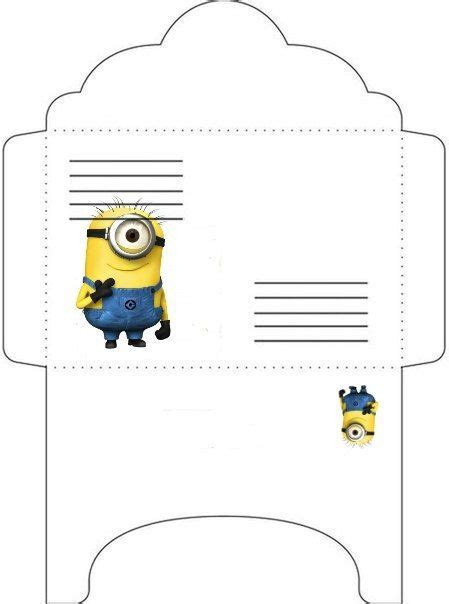 printable minion envelope 1775 best minions images on pinterest minion party kids