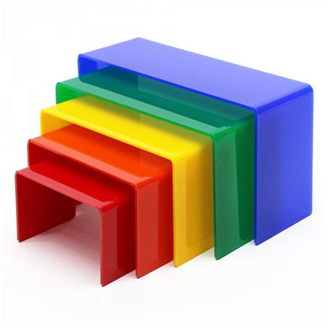 Acrylic Plastik coloured acrylic bridges plastic formers direct