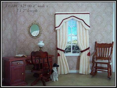 how to make curtains for dollhouse dollhouse curtains i love to make dollhouses pinterest