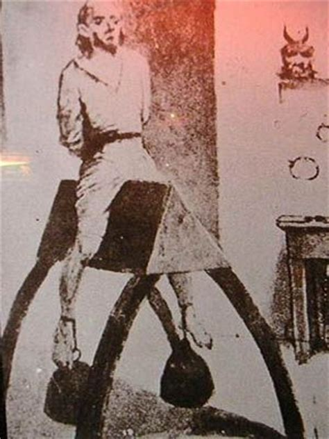 Wooden Horse Torture | the wooden horse torture devices pinterest