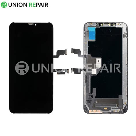 replacement  iphone xs max oled screen digitizer assembly black