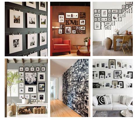 arredare con fotografie come arredare con le fotografie una parete bismama