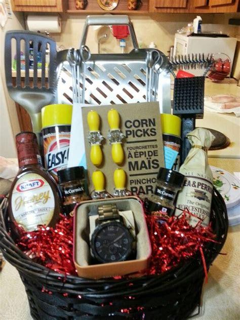 s day gift basket ideas fathers day bbq gift basket bigdiyideas