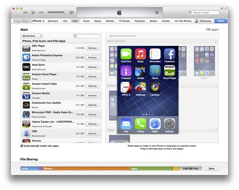 how to arrange iphone icons in itunes page 2 appledystopia