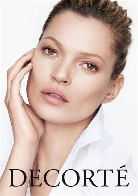 Kate Moss Is One Fonty by Kos 201 Corporation S Prestige Luxury Brand Cosme Decorte