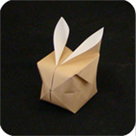 Origami Balloon Bunny - origami balloon bunny make origami