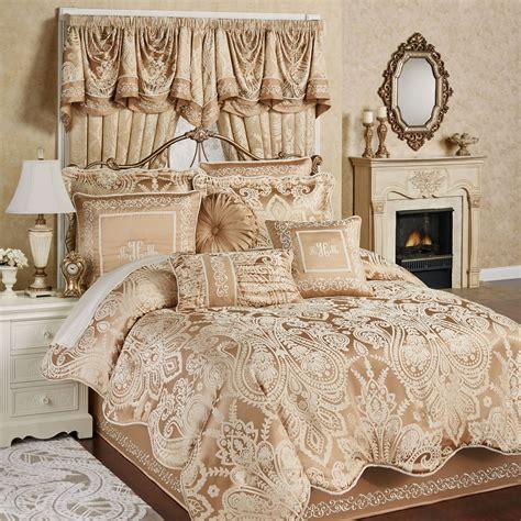 bronze comforter monarch golden bronze comforter bedding