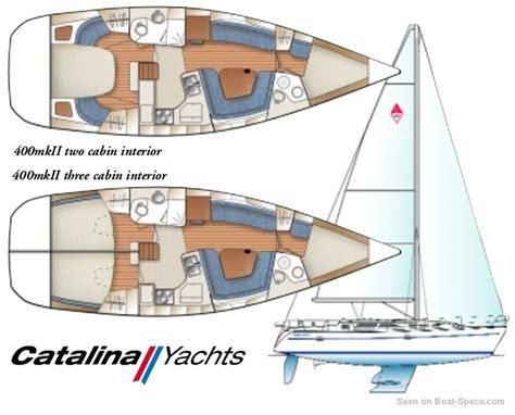 sailboat layout catalina 400 mkii wing keel catalina yachts sailboat