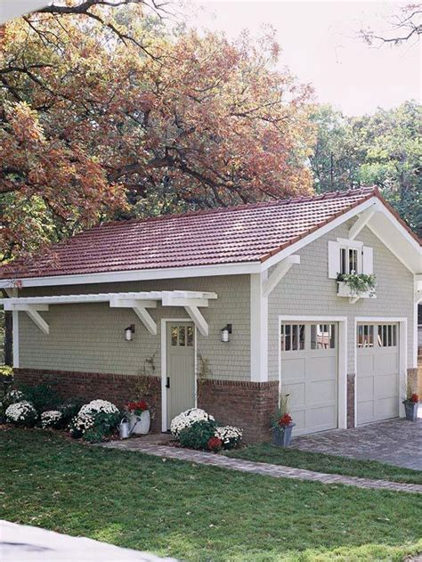 Building Onto A Garage by Add Interest To Your Yard With A Pergola On The Side