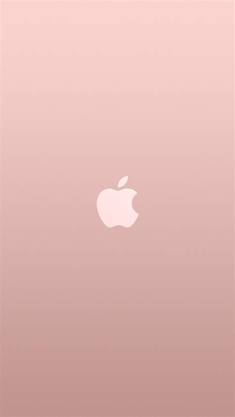 papersco iphone wallpaper au logo apple pink rose