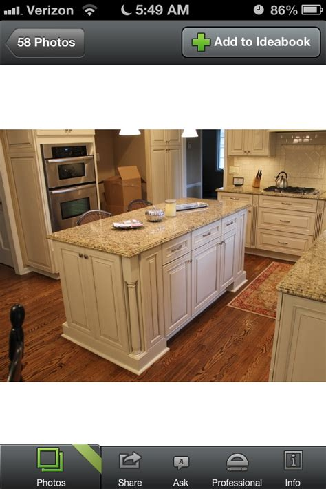 antique white cabinets granite hardwoods for the home